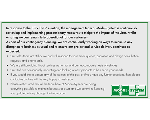 Coronavirus (COVID-19) Statement (April Update)